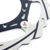270mm Oversize Motorcycle Brake Rotor Front Floating Brake Disc With CNC Machined Bracket for Dirt Bike